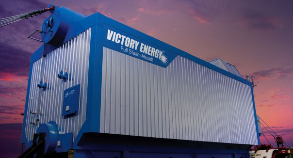 Creative State Launches Custom Website for Victory Energy