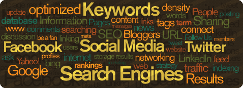 Social Media Site Search Engines Graphic