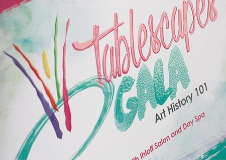 Branding and Design for Tablescapes Gala