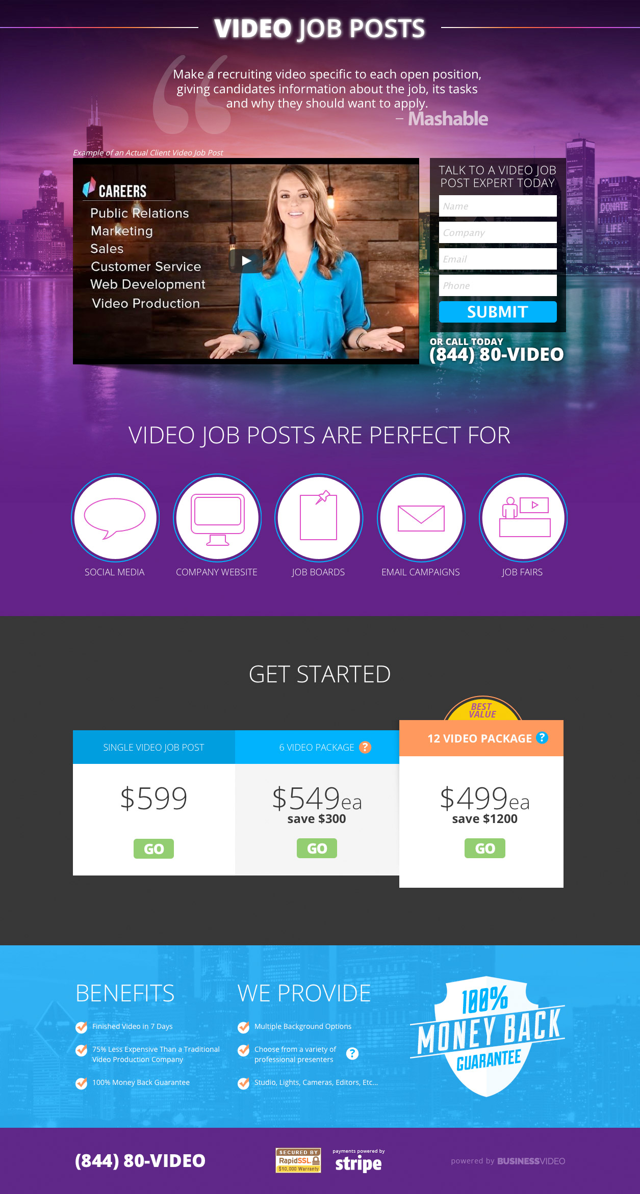 tulsa web design tulsa marketing world class business websites a custom website for videojobposts com
